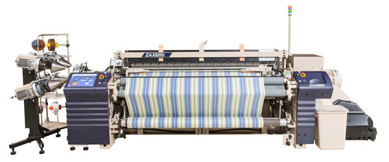 Air jet loom other auxiliary energy saving