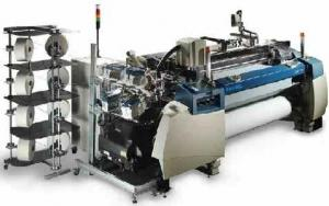 The Picanol looms weaving machine process