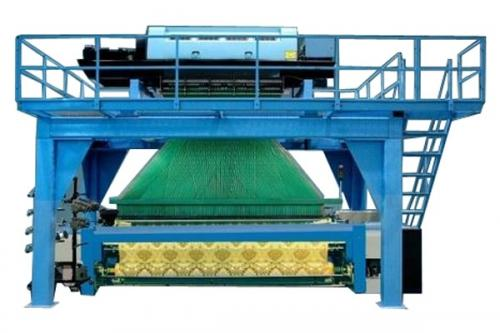 Jacquard loom and color matching software