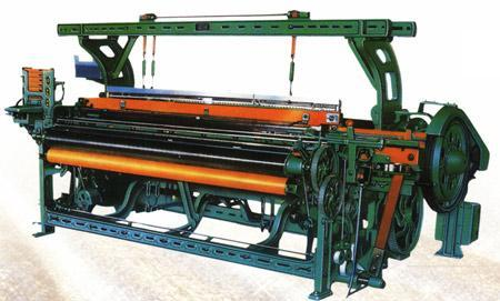 Special foundation for weaving machinery