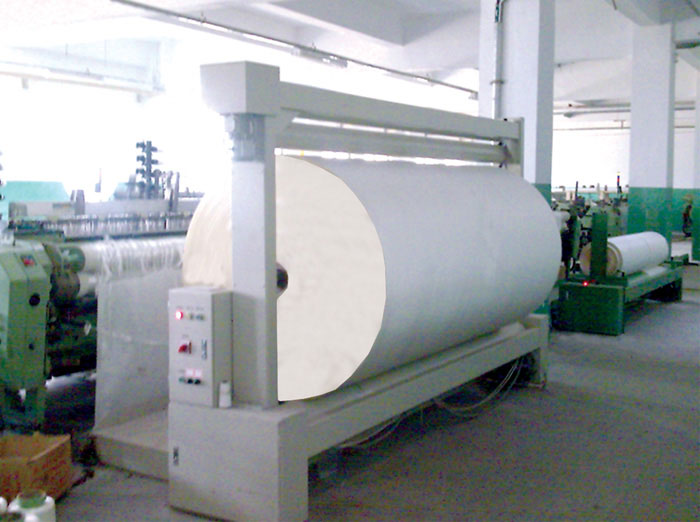SINOJ-09Y Fabric Winding Machine with Pressure Roller