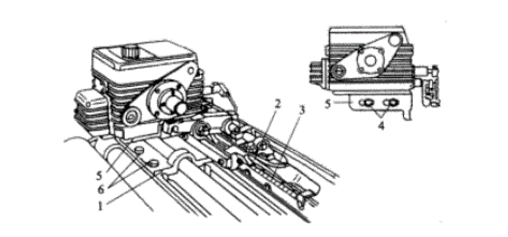 Fig.7 Location of tuck-in device