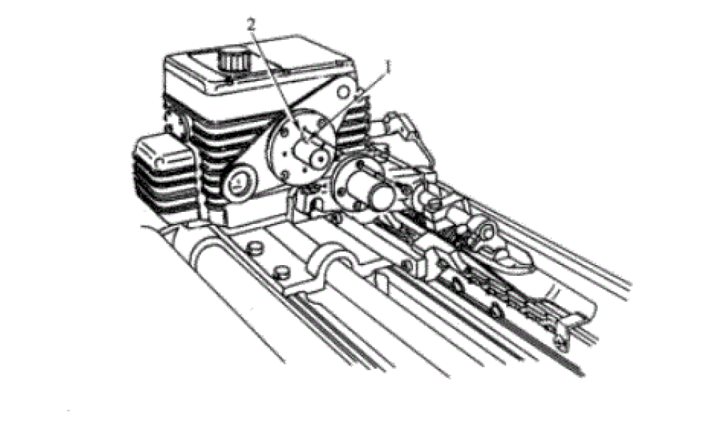 Fig.8 Instruction of tuck-in device adjustment position